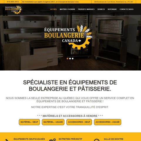 Equipement-Boulangerie-Canada