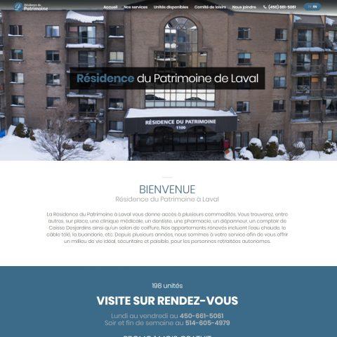Résidence du Patrimoine à Laval